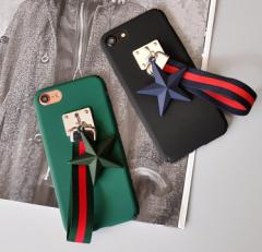 [予約]ストラップ付きスマホケース 2色iPhone6/6s、iPhone6plus/6s plus、iPhone7、iPhone7 plus
