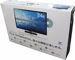 レボリューション 24V型 DVD内臓 デジタル 液晶 テレビ  ZM-24TVD