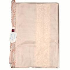 正絹 夏物 帯締め帯揚げセット 平組 夏用 帯〆帯揚げセット 薄サーモンピンク系 86039
