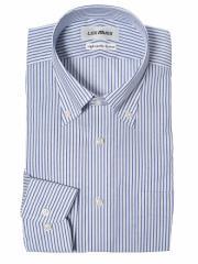 【AOKI】綿100% ボタンダウンシャツ  【形態安定】【送料無料】品番:EALM1813-180