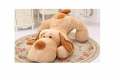クリスマス・巨大イヌぬいぐるみ 特大可愛い犬/抱き枕/いぬ縫い包み/プレゼント/イベント可愛いぬいぐるみ120cm