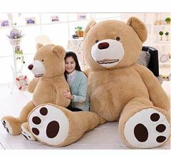 クマ ぬいぐるみ 特大 アメリア コストコ 可愛い動物お祝いプレゼントぬいぐるみ 特大 くま/テディベア 可愛い熊 動物 130cm