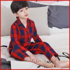 子供服 キッズ 子供 ルームウェア 寝巻き 上下セット 長袖 部屋着 シンプル かわいい パジャマ  kd1689