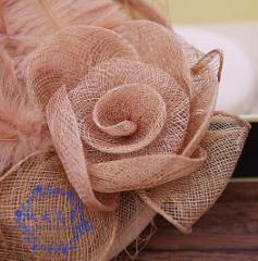 ウェディングハット 安い ブライダル ヘアアクセサリー 髪飾り二次会 花嫁 結婚式 披露宴  パーティーハット 帽子  90