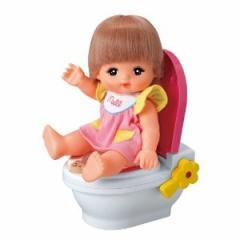 3歳〜★知育玩具 メルちゃん なかよしパーツ【メルちゃんといっしょにおトイレ】パイロットインキ