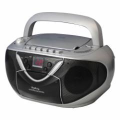 Vegetable 簡単操作CDラジカセ CDラジオカセットレコーダー GD-CD350