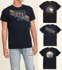 ホリスター Tシャツ 半袖 メンズ ロゴ 323-243all 正規 hollister 正規品