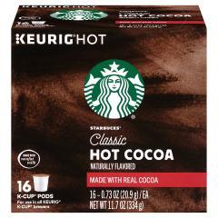 キューリグ専用 K-Cupパック スターバックス Starbucks クラシック ホットココア 16個入 Kカップ Keurig スタバ