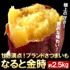【さつまいも】ブランドさつま芋「なると金時」約2.5kg【鳴門金時】 (gn)