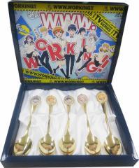 TVアニメ WWW.WORKING!!(ワーキング)◆スプーンセット◆新品◆