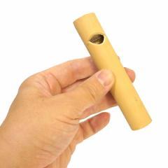 アジアの楽器 バンブーの笛 鳥笛 鳴き笛 焼き模様 穴1個 エスニック バリ アジアン アジアン雑貨