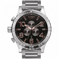 正規品<並行輸入品>NIXON/ニクソン THE 51-30 CHRONO Silver and Rose, A0832064, a083-2064【送料無料】