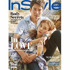 韓国女性雑誌 InStyle 2017年 6月号 (チュ・サンウク&チャ・イェリョン表紙/ハン・ジミン、パク・シネ、コン・ユ、パク・ボゴム記事)