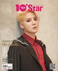 韓国芸能雑誌 10ASIA(テン・アジア) 2017年 1月号:10+Star (キム・ジュンス、BIGBANG、イ・ビョンホン、ジェクスキス、SEVENTEEN記事)