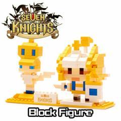 (先払いのみ) 韓国キャラクターグッズ モバイルRPG「Seven Knights(セブンナイツ)」 ブロック フィギュア(クーポン同封/7種1択)