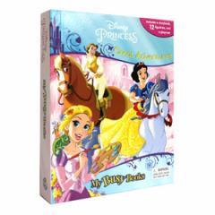 (英語版)海外書籍 「Disney Princess Great Adventures My Busy Book(ディズニープリンセス マイ ビジーブック)」 (本+フィギュア)