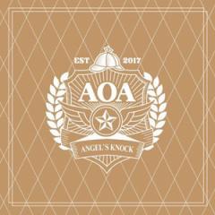 (先払いのみ) 韓国スターグッズ AOA(エイオーエイ) 1ST ALBUM [ANGES KNOCK] OFFICIAL GOODS - ケープブランケット+フォトカード8種