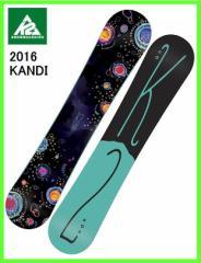 2016 K2 KANDI 137cm ケーツー ロッカースノーボード