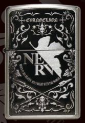 【送料無料】エヴァンゲリオン Zippo NERV EVAtic Elements ジッポ ライター オイルライター エヴァンゲリヲン ネルフ グッズ