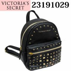 ヴィクトリアシークレット/VICTORIAS SECRET スタッズ ミニリュック ブラック 23191029