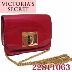 アウトレット/OUTLET半額SALE ヴィクトリアシークレット/VICTORIAS SECRET パテントレザー ターンロックポシェット22811063