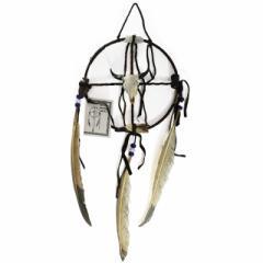 メディスン・ホイール バッファローB ドリームキャッチャー インディアンジュエリー ナバホ族 ハンドメイド ラッピング無料