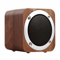 ★ ポータブル FMラジオ付 bluetooth木製無線スピーカー ★