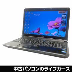 富士通 ノートパソコン Windows7 64bit Corei5 560M RAM4GB HDD640GB 15.6型ワイド ブルーレイ 無線LAN HDMI AH550/5B 中古PC 2335