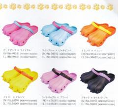 『モンスターサンダル』レディース (23cm〜25cm) ユニークEVAサンダル かわいい女性向け!選べる6色×2サイズ
