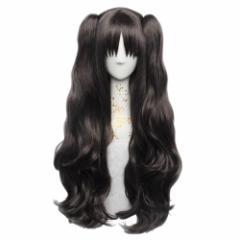 Fate/Stay night フェイト・ステイナイト遠坂凛 コスプレウィッグかつら cosplay wig 耐熱ウィッグ 変装用ウィッグ