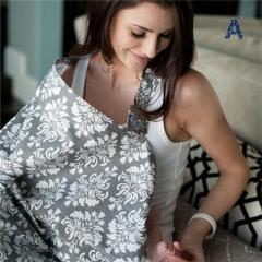授乳ケープ ワイヤー入り授乳カバー 授乳服 外出先での授乳に便利なナーシングカバー 【管理番号:F056】