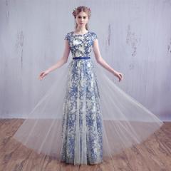 パーティードレス 結婚式 カクテル イブニングドレス 披露宴 ロングドレス コンサート 安い カラードレス 演奏会 花嫁 二次会