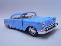 KINSMART 1957 Chevrolet Bel Air 1/40ダイキャストミニカー【ブルー】