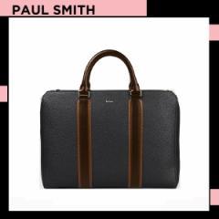 ポールスミス Paul Smith メンズ マルチ カラーブロック 2WAY ブリーフケース ブラック