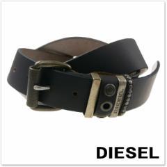 【セール 35%OFF!】DIESEL ディーゼル メンズレザーベルト B-IVE / X04717 P1004 ブラウン