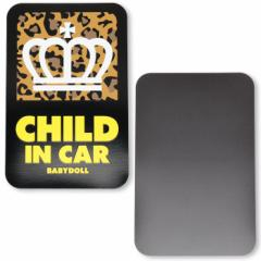 NEW♪セーフティサイン_カーステッカー/キッズインカー(マグネット)-車装飾 車用品 カー用品 ベビードール 子供服-9633