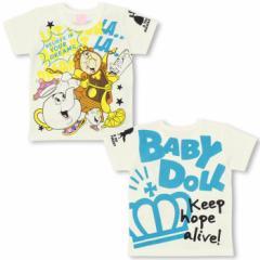 SS_SALE50%OFF ディズニー 美女と野獣 Tシャツ ベビーサイズ キッズ ベビードール 子供服/DISNEY-9361K