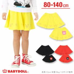 12/1〜FW_SALE50%OFF ディズニー 裾アイコンスカート-ベビーサイズ キッズ ベビードール 子供服/DISNEY-9768K