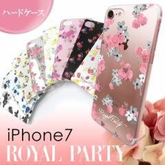 iPhone7 【ROYAL PARTY/ロイヤルパーティー】 「ハードケース」 花柄