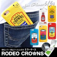iPhone6 iPhone6s 【RODEO CROWNS/ロデオ クラウンズ】 「ミラーケース」