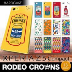 Xperia Z5 compact (SO-02H) 【RODEOCROWNS/ロデオクラウンズ】 「ハードケース」 エクスペリア