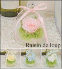 プリザーブドフラワー ミニドーム 4カラー かわいい プレゼント 誕生日 結婚式