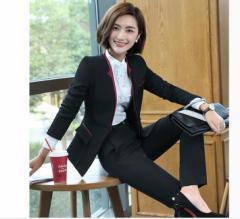 高品質 長袖スーツ レディースパンツスーツ フォーマル ビジネス 七五三セレモニー  3点セット女性 スーツ 大きいサイズ