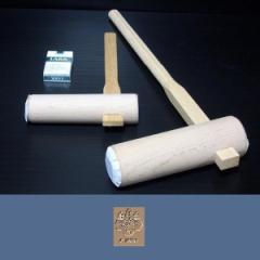 餅つき用 杵(きね) 子供用 大小2本セット 【送料無料】toyo181