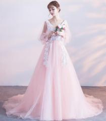 編み上げ パーティードレス 大きいサイズ 結婚式 披露宴新品人気 ウェディングドレス 花嫁ドレス 二次会ドレス