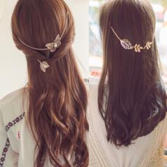 バックカチューシャ ヘアポニー ヘアアクセサリー 髪飾り ヘアピン(メール便送料無料)