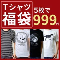 福袋 メンズ レディース Tシャツ カットソー 2017福袋 【Tシャツ5枚セット】