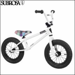 """BMX 2017 SUBROSA サブローザ """"ALTUS BALANCE"""" ホワイト 12インチ キックバイク"""