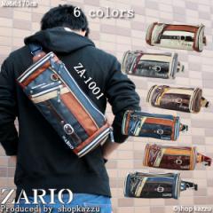 ★送料無料★ 【ランキング受賞】ボディバッグ メンズ 鞄 バッグ ボディーバッグ 斜め掛け ショルダーバッグ ZARIO ザリオ  【ZA-1001】