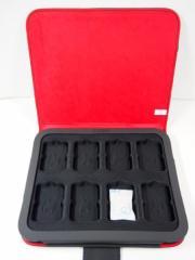 ジッポーZippo社純正コレクターケース8個 コレクション 収納ジッポーロゴ新品小物